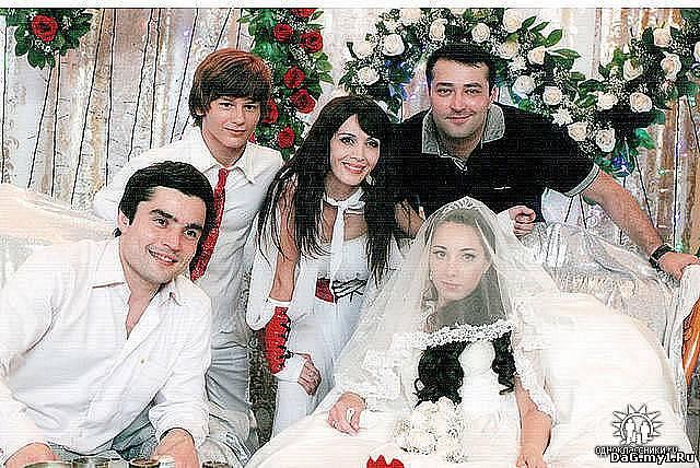 Свадьбы кавказских певцов